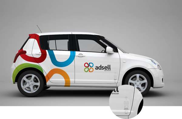 Beautiful Examples Of Vehicle Car Branding Design Graphic - Modern business vehicle decals