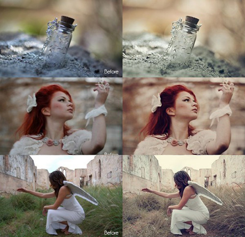 Photoshop Vintage Actions