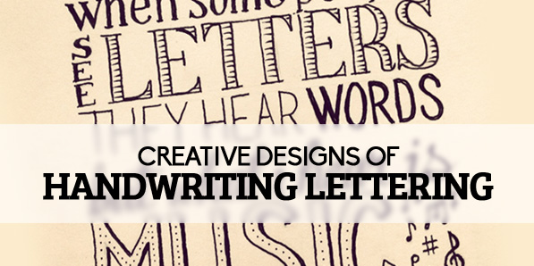 26 Creative Handwriting Lettering Examples For Inspiration