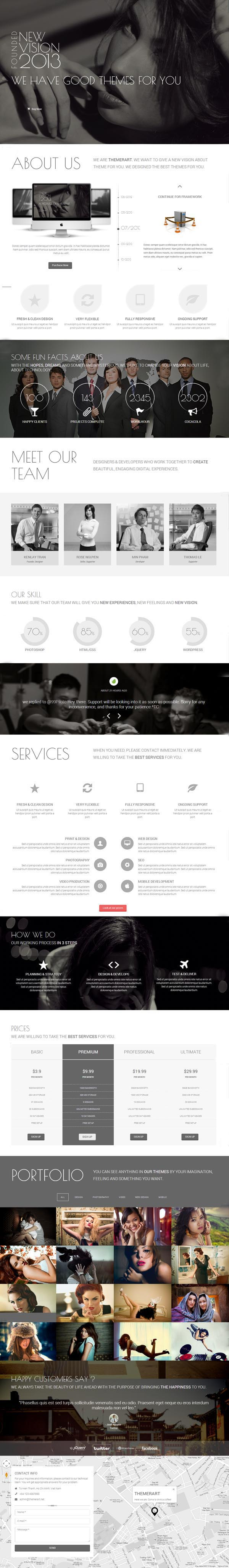 HTML5 Responsive Website Templates | Web Design | Graphic Design ...