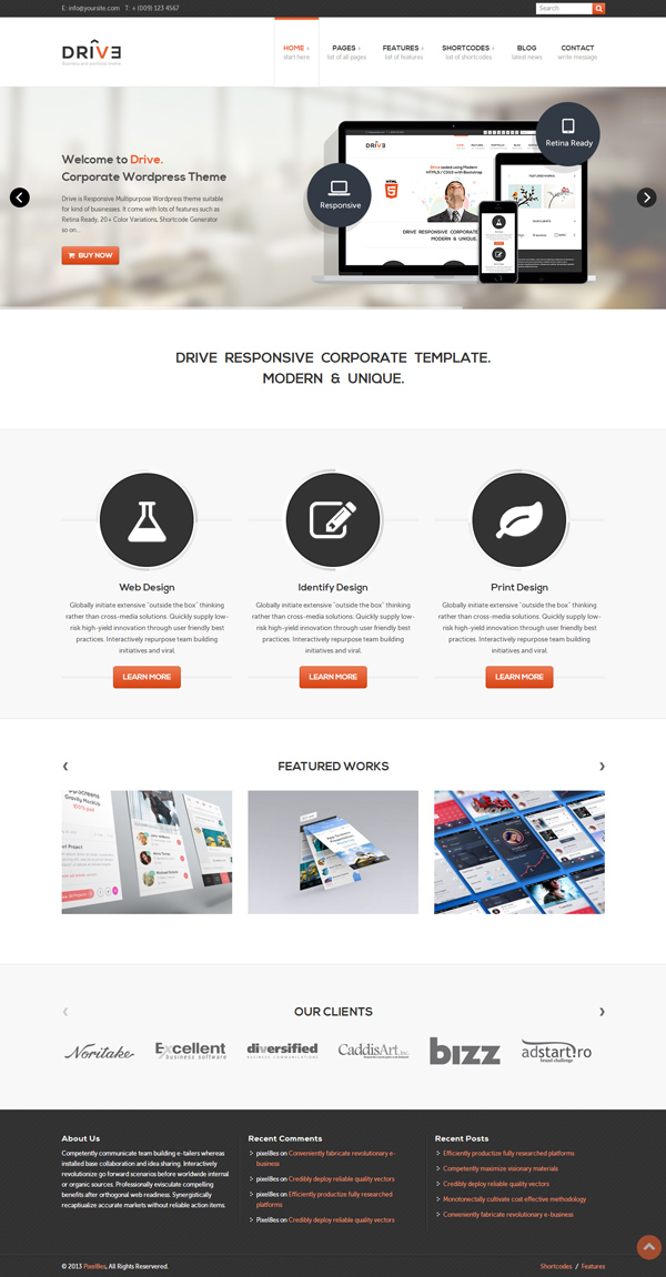 Drive - Multi-Purpose WordPress Theme