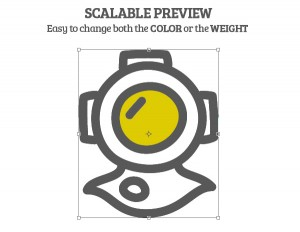 Free Vector Icons Scalable Preview