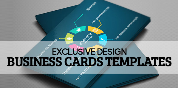 Exclusive Design Business Cards Templates Design Graphic - Graphic design business card templates