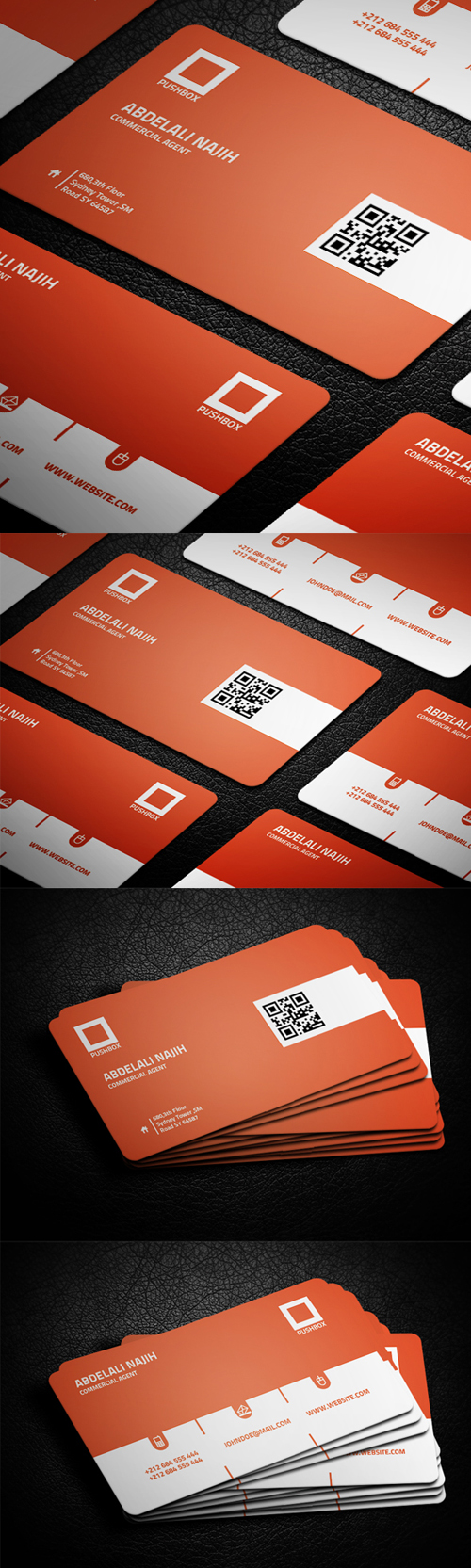 business cards template design - 10