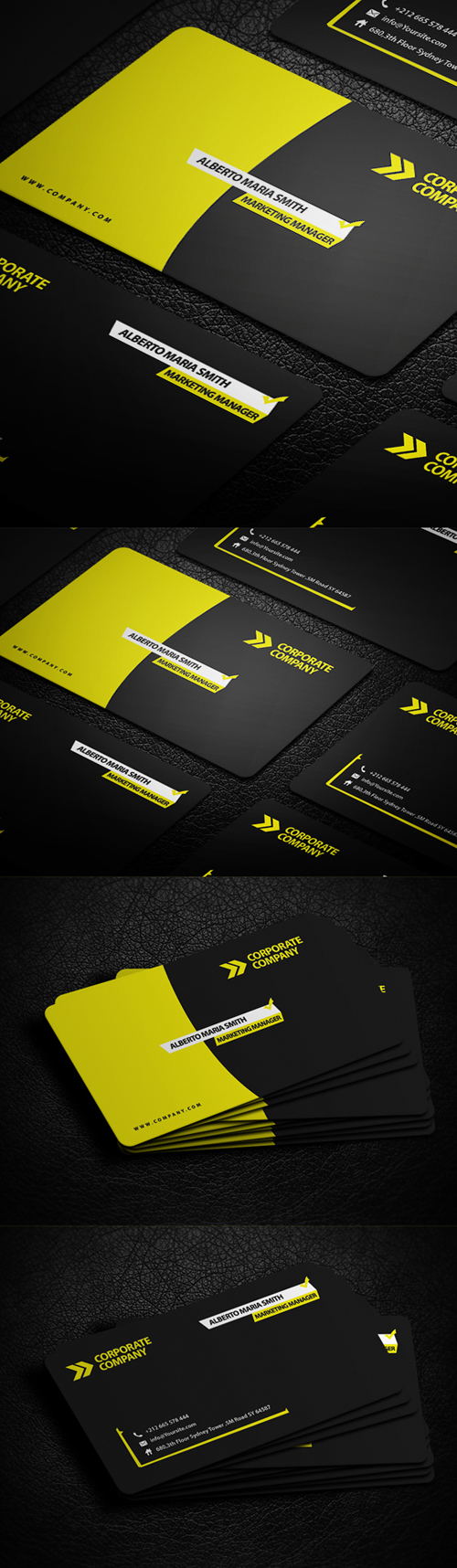 Business Card Templates (PSD) - 19