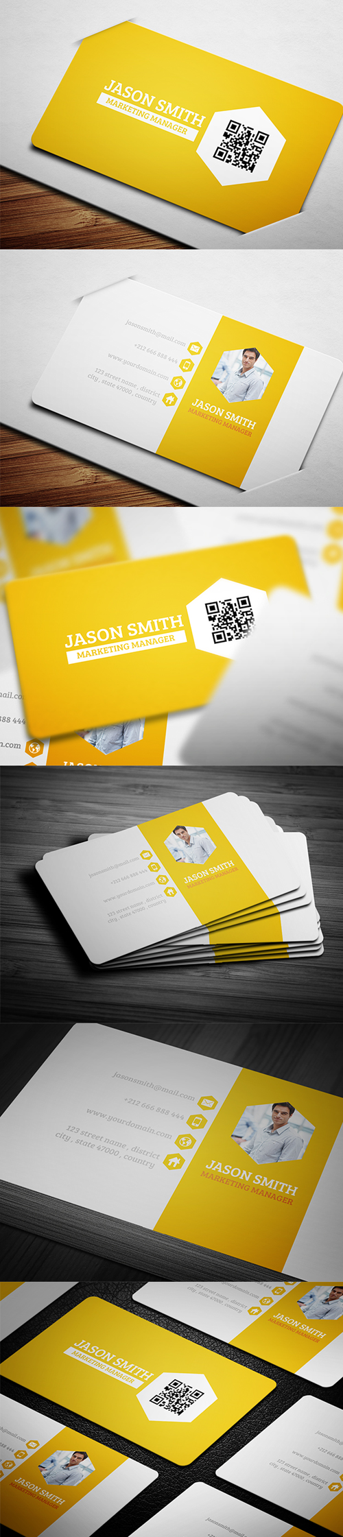Exclusive design business cards templates design graphic business cards template design 4 magicingreecefo Image collections