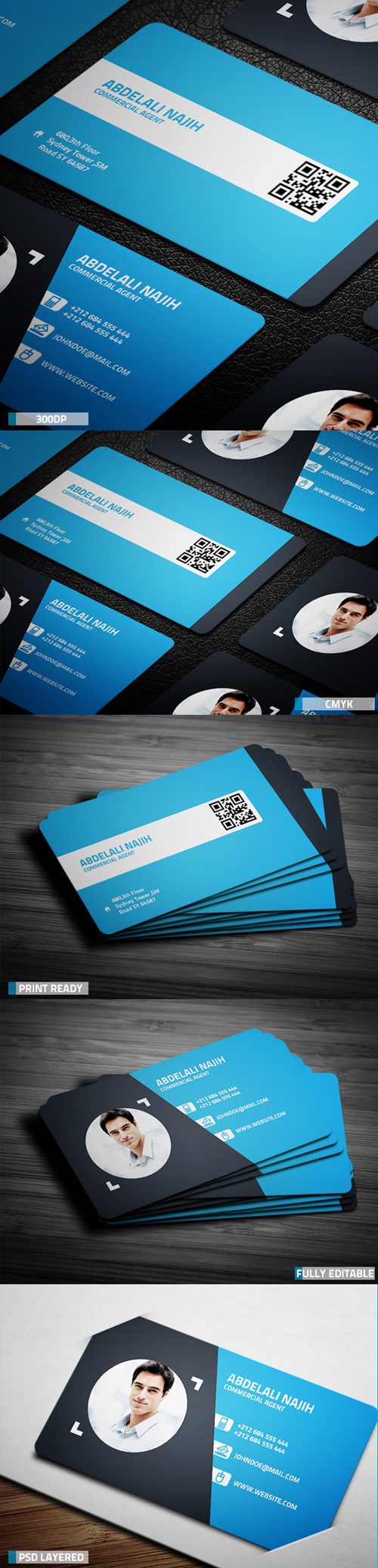 Business Card Templates (PSD) - 17