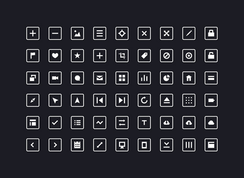 54 Free Squared Icons