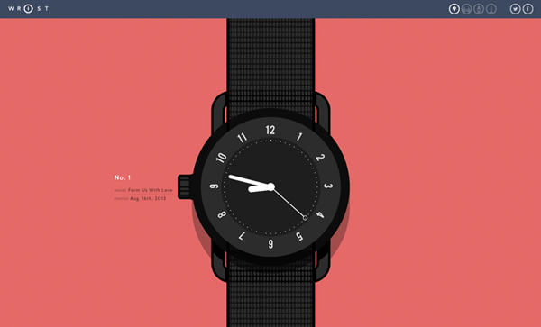 Wrist Flat Website Design
