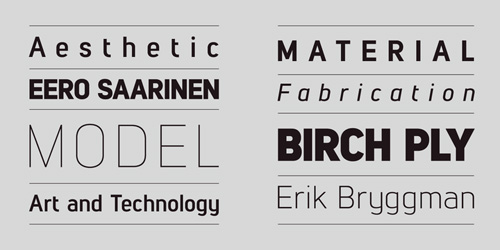 Lintel free fonts of year 2013