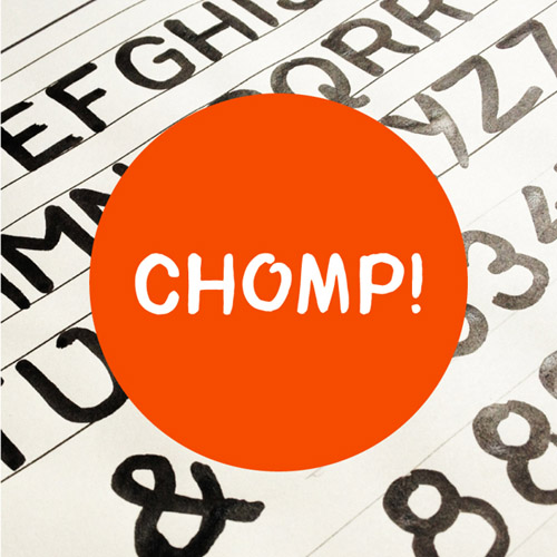 Chomp! Typeface free fonts of year 2013