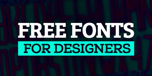 16 New High Quality Free Fonts