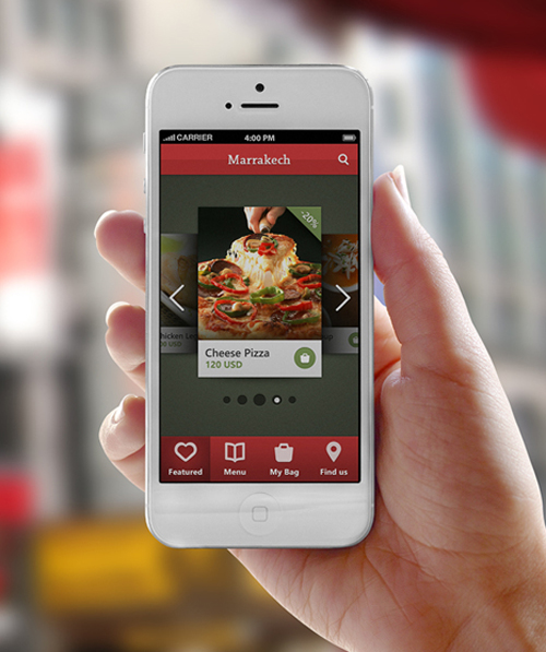 Mobile app ui design with great user experience