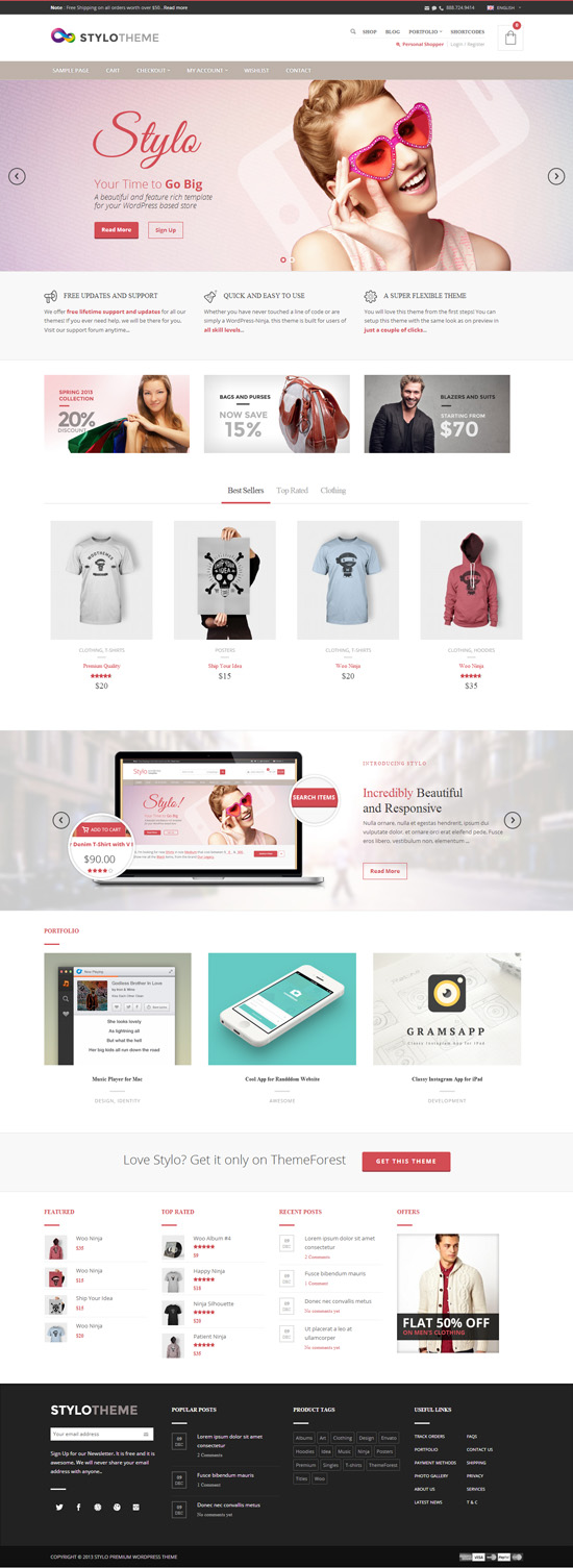 Stylo - Responsive Multi-Purpose Theme