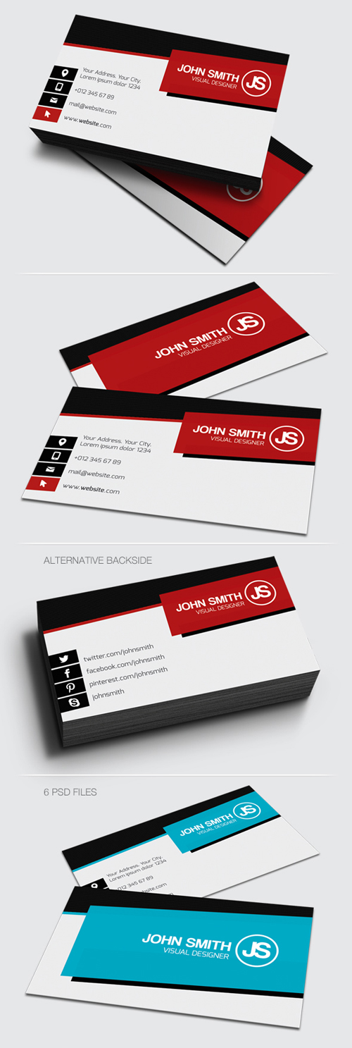 Corporate Business Cards Design-11