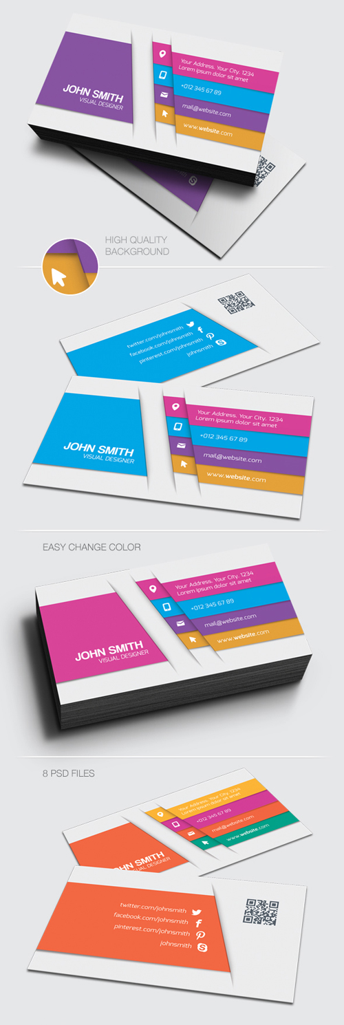 Visual Designer Business Cards Design-12