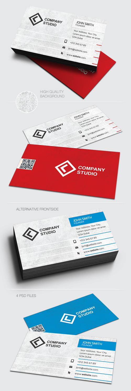 Corporate Business Cards Design-13