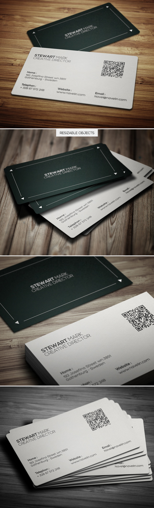 Creative Business Cards Design-2