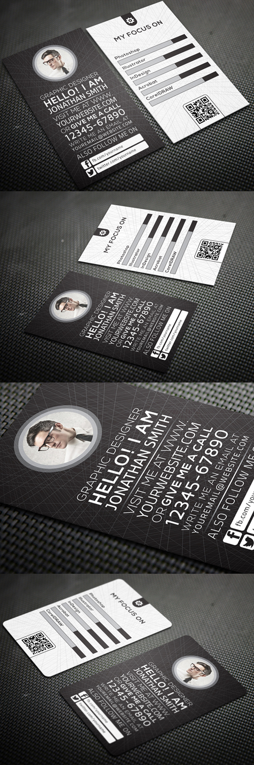 Business Card Templates (PSD) - 24