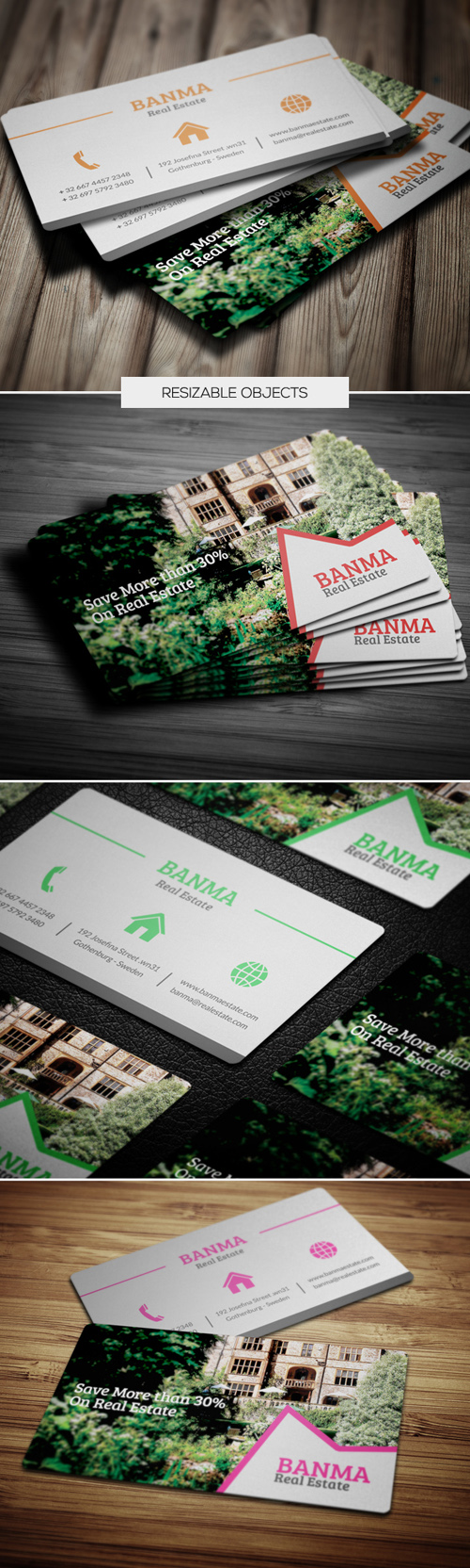 Read Estate Business Cards Design-3