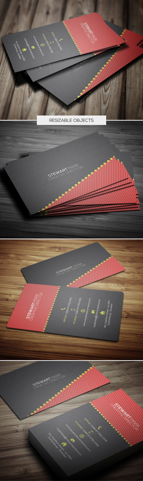 Modern Business Cards Design-4