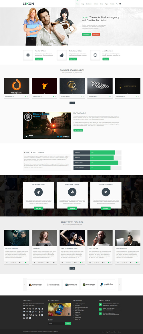 Lexon - Responsive WordPress Theme