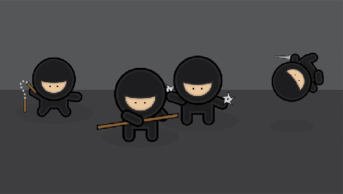 Create a Gang of Vector Ninjas in Adobe Illustrator Tutorial