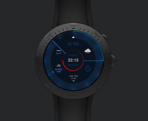 Sailing Watch Concept