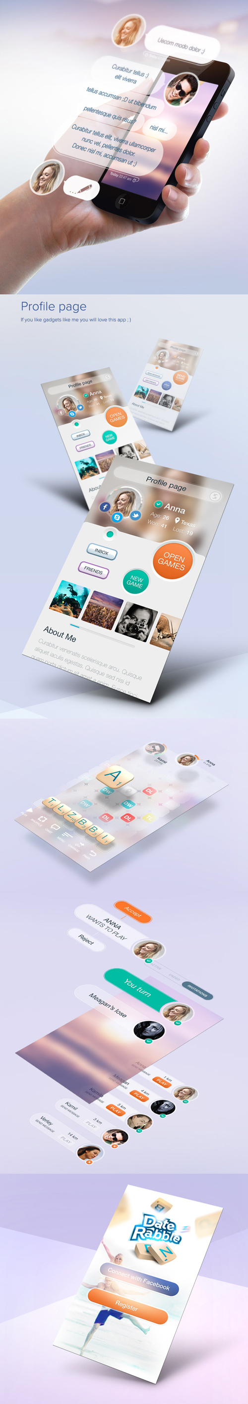 Game app UI Design Concepts to Boost User Experience
