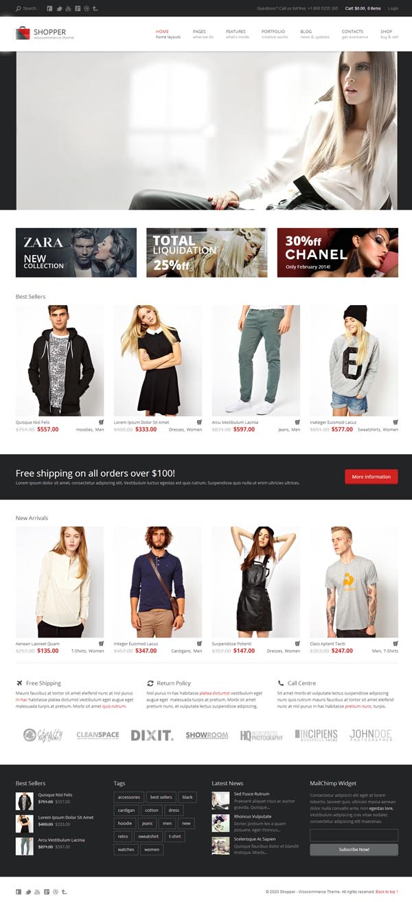 Shopper - Multi-Purpose Woocommerce WordPress Theme