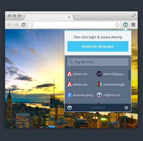 Mitro Chrome Extension UI Design Concepts to Boost User Experience