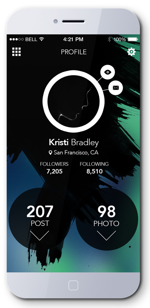 Profile page UI Design Concepts to Boost User Experience