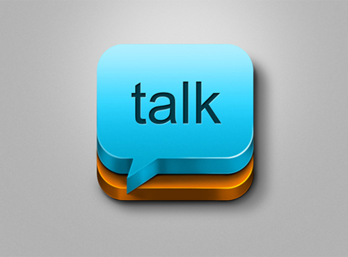 talk - Icon Design