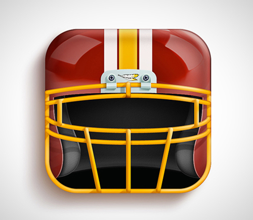 IOS Icon Washington Red Skins