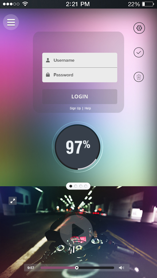 Innovative Ui Design Concepts To Boost Ux | Inspiration | Graphic, Möbel