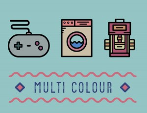 Colorful Pictogram