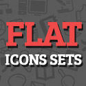 Post Thumbnail of 36 Free Flat Icons Sets