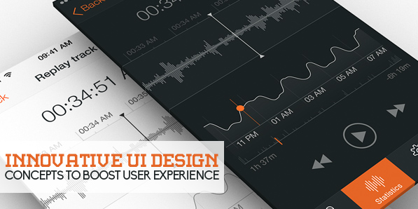52 Innovative UI Design Concepts to Boost User Experience