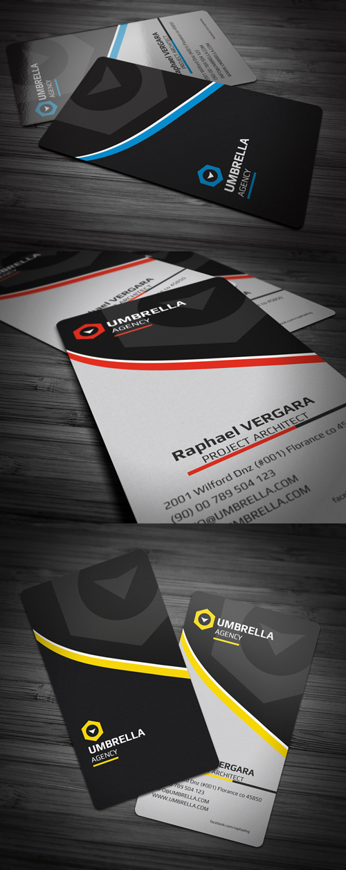 New Corporate Business Cards | Design | Graphic Design Junction