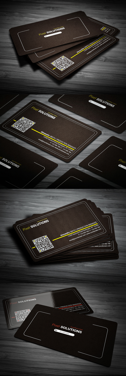 Corporate Line Business Card
