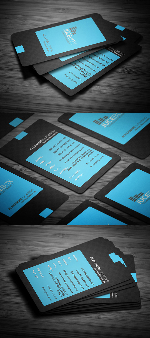 New Corporate Business Cards Design