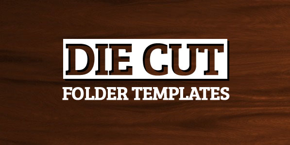 182 Free Die Cut Folder Templates to Download from CompanyFolders