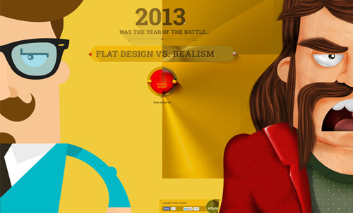 35 Flat Website Design Examples for Inspiratoin