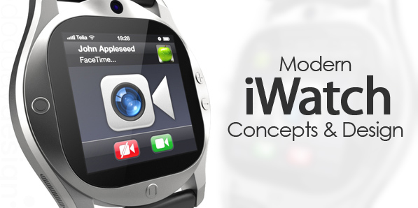 32 Amazing iWatch Concept Designs
