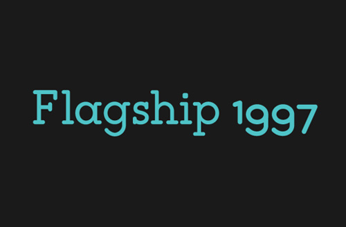 Flagship Typeface