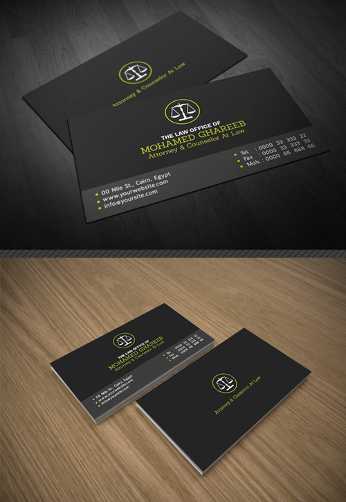 Lawyer business card vector best business cards creative lawyer business card designs of print ready business cards design graphic reheart Choice Image