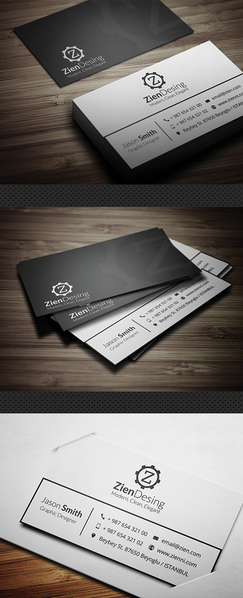 Business Card Templates (PSD) - 12