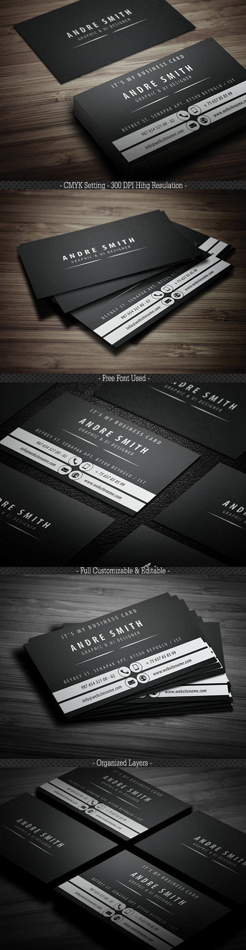 Business Card Templates (PSD) - 13