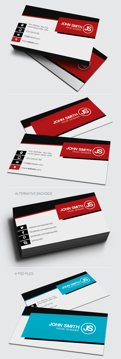 Designs of Print Ready Business Cards | Design | Graphic Design ...