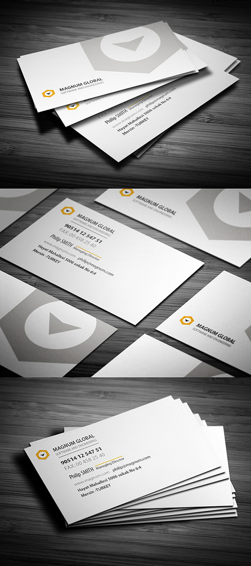 Business Card Templates (PSD) | Design | Graphic Design Junction